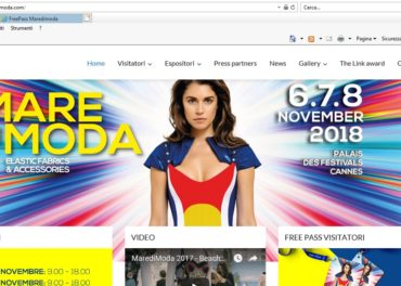 maredimoda.com. A completely renovated website is online now