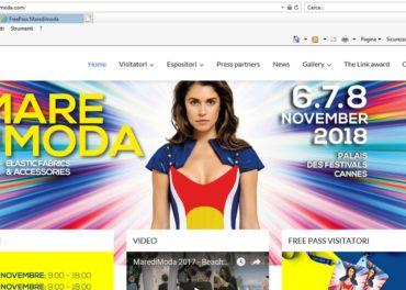 maredimoda.com il sito completamente rinnovato è da oggi on-line