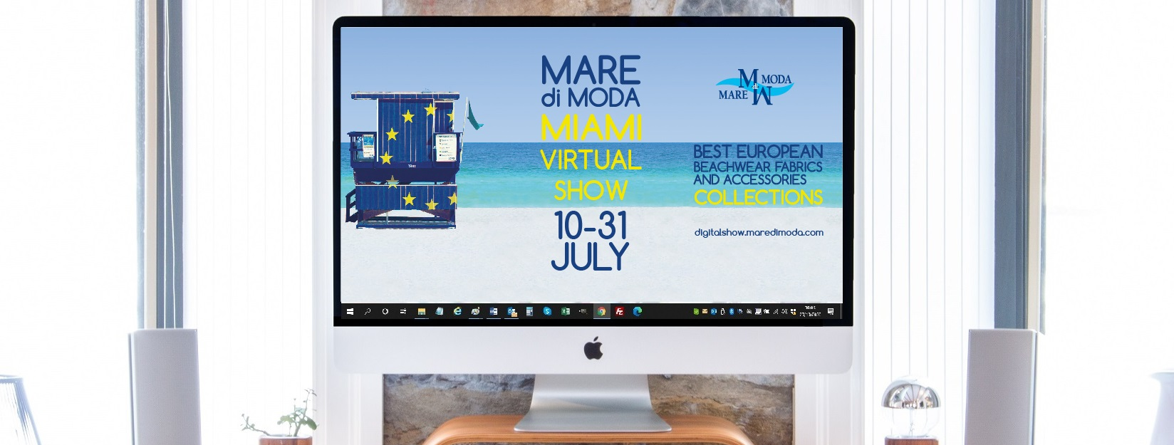 MarediModa Miami Digital Show on the stage of the Swim Week starring the excellence of the European textile